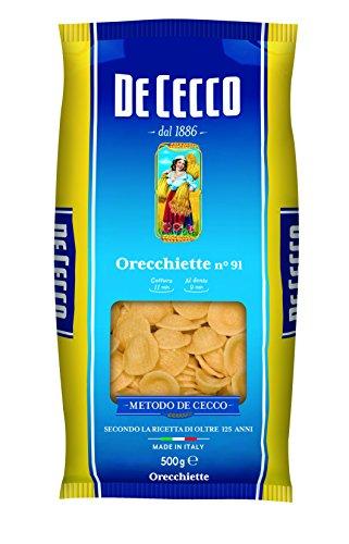 De Cecco Teigware Orecchiette, 1er Pack (1 x 500 g)