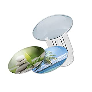 'Fairy Sealing Plug White Unique Design Kit For Drain Blockage with 3 Interchangeable Caps