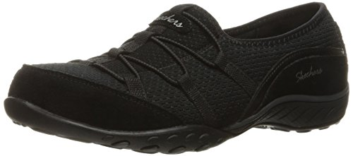 Skechers Sport Womens Breathe Easy Blythe Fashion Sneaker Black