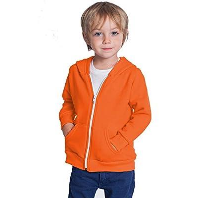 Home ware outlet Kids Unisex Plain Fleece Hoodie Hoody Hoodies Girls Boys Sweatshirt Zipper Years 3-13 : everything five pounds (or less!)