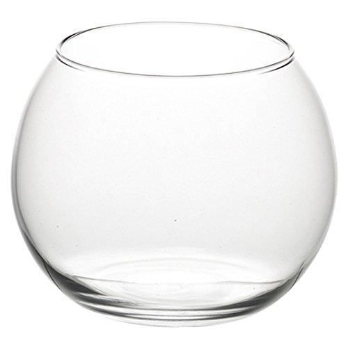 Fischglas, runde Vase, sortiert, S