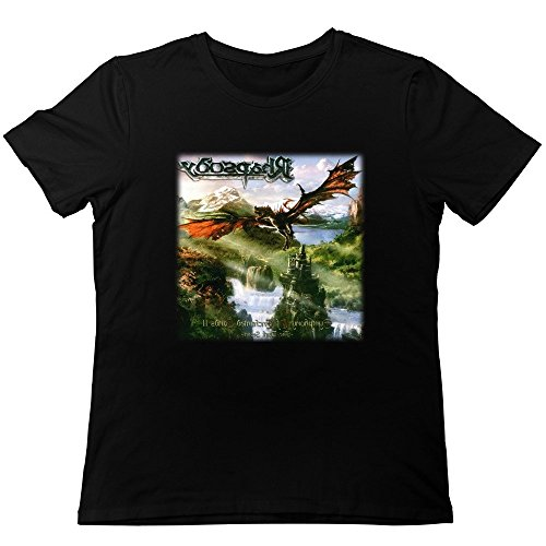 Hombres de Rhapsody el oscuro secreto álbum cubierta moda camisetas
