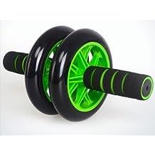 ZeleSouris AB Roller Wheel Rueda de Rodillo del Ejercicio Abdominal Rodillo Ejercitador del Cuerpo para el entrenamiento de los músculos de abdominales, brazos, hombros y espalda