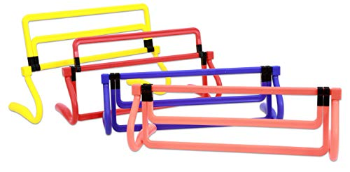 Betzold 755685 - Hürden-Set Kinder-Hürden Agility Leichtathletik Trainings-Hürden Koordinations-Hürden