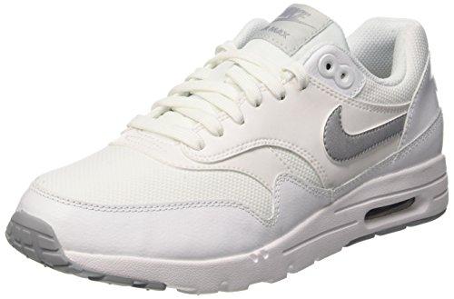 Nike W Air Max 1 Ultra Essentials, gymnastique femme Blanc (Blanc/Wlf Gry-Pr Pltnm-Mtllc S)