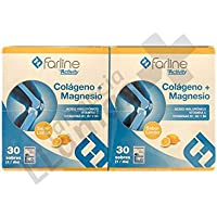 Farline COLAGENO + MAGNESIO SABOR LIMON 30 SOBRES DUPLO