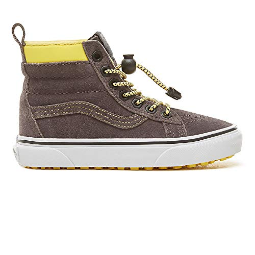 49fbad063157 Vans Kids Suede Sk8-hi MTE -Fall 2018-(VN0A2XSNUE91) - (MTE)  Toggle Yellow Gray - 3