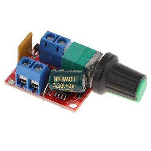 Homyl Motor PWM Drehzahlregler 5A Dc 3V-35V Drehzahlregelung Schalter LED Dimmer -