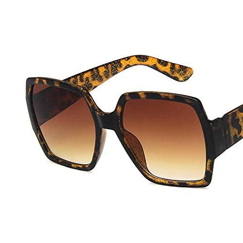 YUHANGH Übergroßen Quadratischen Sonnenbrille Frauen Männer Retro Rahmen Sonnenbrille Für Frau Grün Rot
