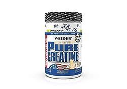 WEIDER Pure Creatine - Creapure Kreatin Monohydrat Pulver 600 g, Fitness & Bodybuilding, 176Portionen