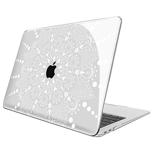Fintie Hülle für MacBook Air 13 (2018 Freisetzung) A1932 - Ultradünne Glatt Hartschale Schutzhülle Snap Case für Apple MacBook Air 13