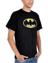 Batman, Distressed Logo, T-Shirt, Size