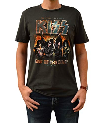 Amplified Kiss End of The Road Camiseta XXL