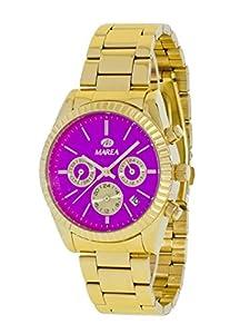 Reloj Marea Mujer B41155/6 Dorado Multifunción Rosa de Marea Relojes