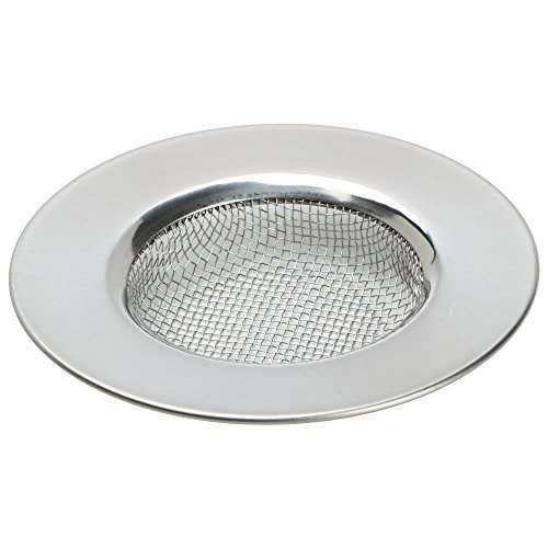 comprare on line acciaio inox bacino bagno filtro lavandino 7,7 cm Set di 2 prezzo