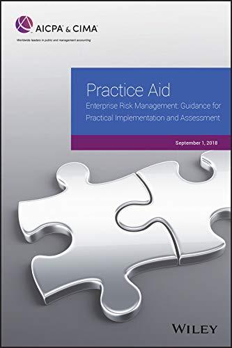 Practice Aid: Enterprise Risk Management: Guidance For Practical Implementation and Assessment, 2018 (AICPA) Descargar Epub Ahora