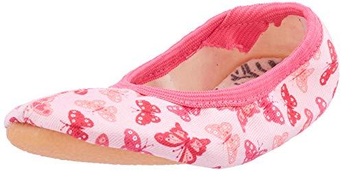Beck Mädchen Papillon Gymnastikschuhe, Pink (Rosa 03), 24 EU