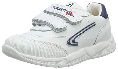 Pablosky 278102, Zapatillas Unisex niño, Blanco Blanco Blanco, 29 EU