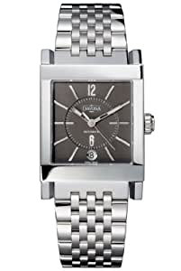 Davosa Men's Automatic Watch with Grey Dial Analogue Display and Silver Stainless Steel Bracelet 16149380
