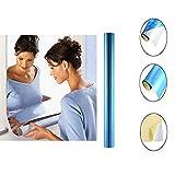 BPOOR Specchio Film Deco Foglio con Effetto Specchio,Adesivo Murale a Specchio, Riflettente Flessibile Chrome Specchio Come Wall Sticker Room Ornament Wallpaper (50 * 200cm*0.2mm)