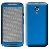 atFolix Skin kompatibel mit Motorola Moto G 2. Generation 2014, Designfolie Sticker (FX-Chrome-Soft-Blue), Verchromt/Chrom/Glanz-Effekt