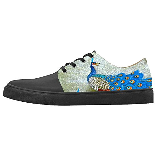 Dalliy sch?ne pfau Boy's Canvas shoes Schuhe Footwear Sneakers shoes Schuhe B