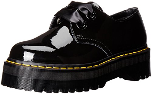 Dr.Martens Womens Holly Patent Lamber Black Patent Patent Leather Shoes 41 EU (Damen-doc Martens Oxford)