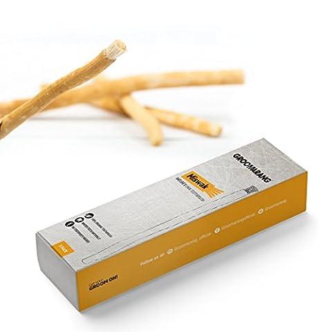 groomarang Miswak Natures Own Zahnbürste Kit 2Sticks Bio Zähne Waschmittel Umweltfreundlich von El-Salvador persica Baum (El Zahnbürste)
