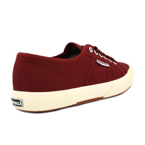 Superga Unisex-Erwachsene 2750 Cotu Classic Sneaker Burgunderrot