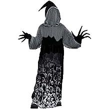 Ragazzi Dark Shadow Creeper Halloween Phantom of Darkness Costume 14-16 anni 696c4724f3a2