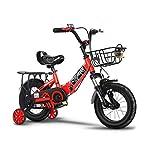 41sag3mNeAL. SS150 Bici per bambini Bici Pieghevoli Bicicletta per Bambini 2-3-4-6 Anni Carrozzina Ragazzo e Ragazza Bicicletta per Bambini…