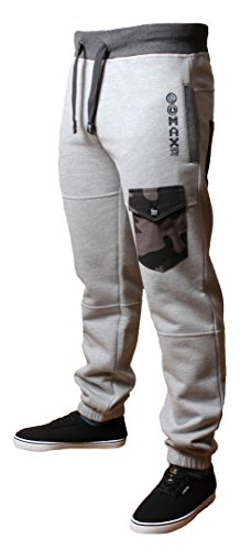 mens-joggers-jogging-pants-max-edition-colorado-2015-sweat-tracksuit-bottoms-grey-marl-large