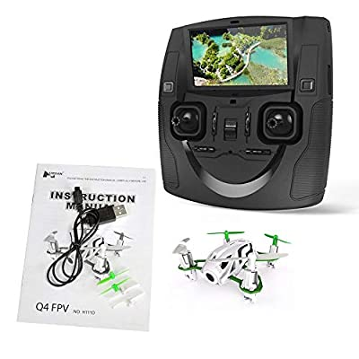Hubsan H501S X4 BRUSHELESS FPV Quadcopter Drone 5,8GHz 1080p HD Camera with GPS Headless Mode Automatic Return Altitude Hold Follow Me