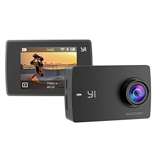 YI 4K Aktion Sport Kamera 8MP LCD Touchscreen Weitwinkel WiFi Camera