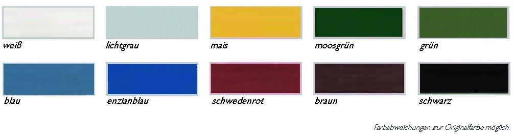 Schwedenhaus farben  Schwedenhaus-Deckfarbe, Farbton: schwedenrot, 2,5 ltr. Gebinde ...