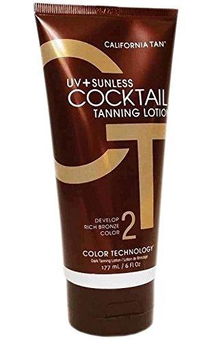 California Tan Sunless Uv plus Cocktail Tanning Lotion, 1er Pack (1 x 0.177 l) (Lotion California Tan Tanning)