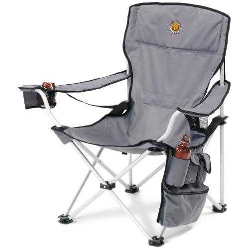 41sakNkHVjL. SS500  - Grand Canyon VIP - folding camping chair, aluminium, grey/black, 308018