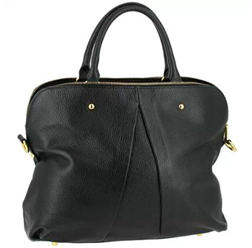 SUPERFLYBAGS Borsa Donna in Vera Pelle morbida modello Vgir Made in Italy Nero