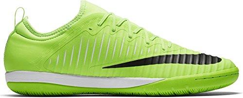 Nike Mercurialx Finale Ii Ic, Chaussures de Foot Homme Grün (Flash Lime/Blk-Wht-Gm Lt Brwn)
