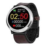 Uhren Smartwatch,Gaddrt Smart Watch Sport Fitness Aktivität Herzfrequenz Tracker Blutdruck Uhr Herzfrequenzmesser, Schrittzähler, Kalorienverbrauchszähler, Blutdruck IP67 (Braun)