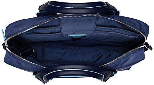 Piquadro Ca1903ce Handtasche, Erwachsene Unisex, Schwarz blu