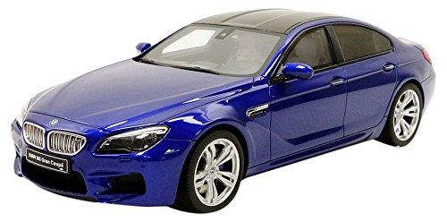GT Spirit–miniatura de coche BMW M6Gran Coupe (escala 1/18, gt184, azul Metal