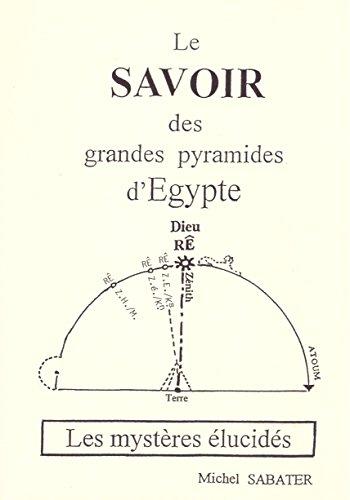 Le savoir des grandes pyramides d'Egypte : Les mystères élucidés