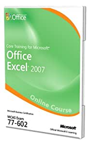 Core Training for Microsoft Office Excel 2007