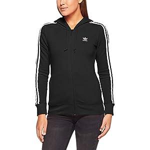 adidas Damen 3-Stripes Kapuzenjacke