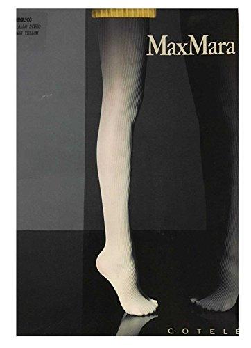 max-mara-collants-femme-jaune-righe-giallo-jaune-38-xl