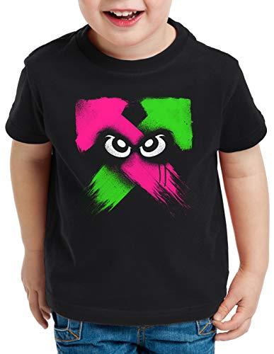 style3 Splash Power T-Shirt für Kinder Switch Shooter Gamer, Größe:140