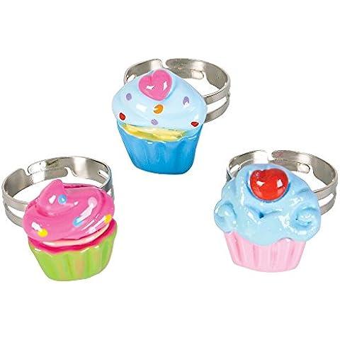 Rhode Island Novelty 36 Piece Kids Mini Cupcake Ring, Assorted by Rhode Island Novelty - Rhode Island Costume