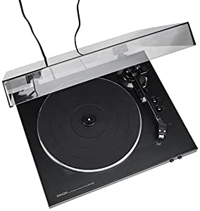 Denon X-Series DP-300F Fully Automatic Turn Table (Black)