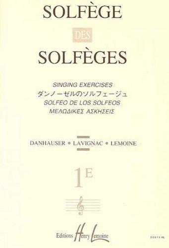 Solfège des Solfèges Volume 1E sans accompagnement par Albert Lavignac